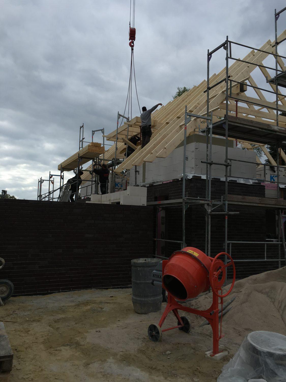 Dachstuhl – Bautagebuch