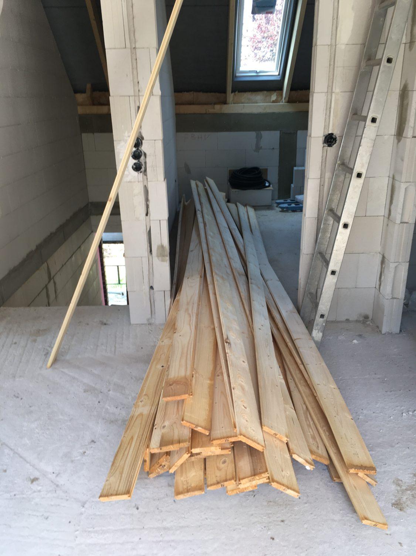 Fussboden Auf Dem Dachboden Bautagebuch